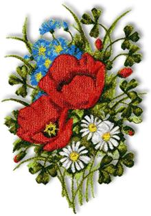 How To Embroider Flowers By Hand - YouTube