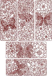 Birds and Butterflies Quilt Block Set I