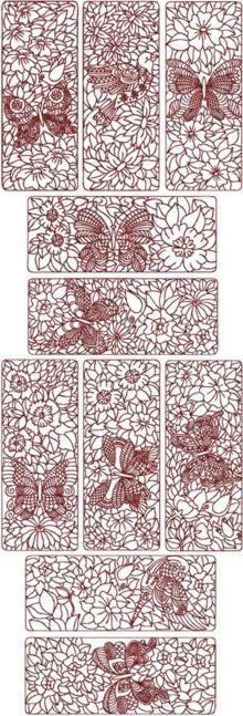 Birds and Butterflies Quilt Block Sets I & II
