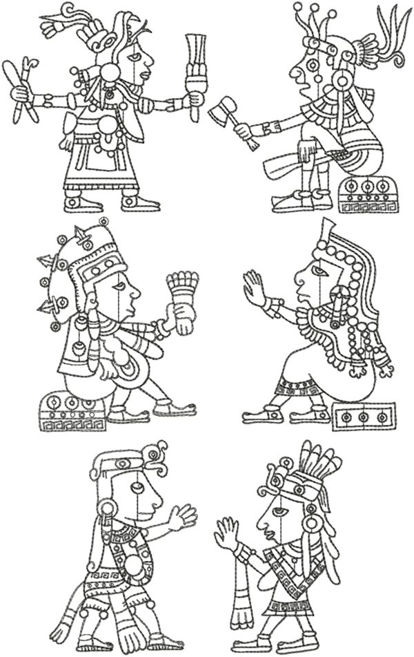 Mayan Border Designs http://www.advanced-embroidery-designs.com/html/22354.html
