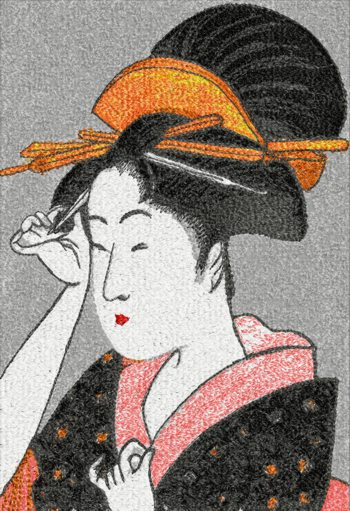 Courtesan by Kitagawa Utamaro