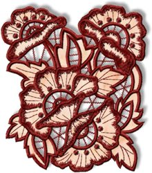 Poppy Cutwork Lace