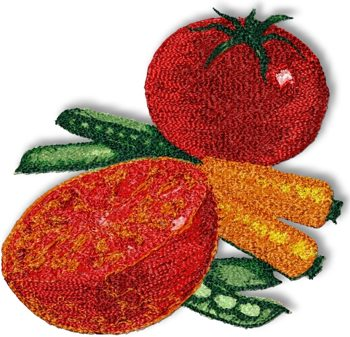Advanced Embroidery Designs Vegetables