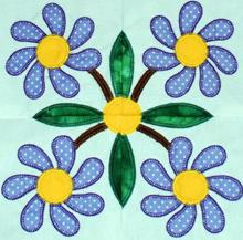 Baltimore Quilt: Daisy Applique