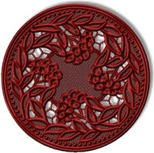 FSL Ash Berries Doily or Insert
