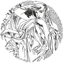 Alphonse Mucha Calendar Series: March