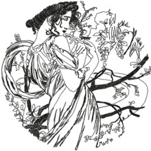 Alphonse Mucha Calendar Series: May