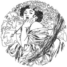 Alphonse Mucha Calendar Series: July
