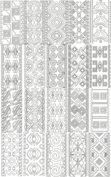 Mexican Motif Set II