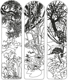 Nature Panels by Alphonse Mucha