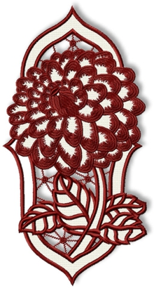 Dahlia Cutwork Lace