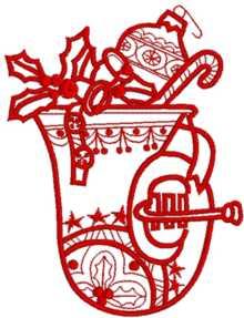 Christmas Bell Horn