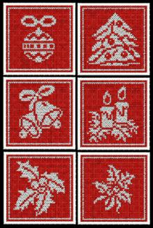 FSL Christmas Coaster Set