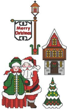 Mr and Mrs Santa Set