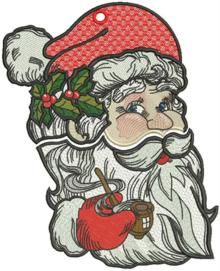 Big FSL Santa Ornament