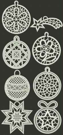 Christmas Ornament Set I