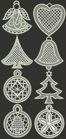 Christmas Ornament Set II