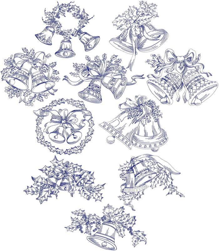 Christmas redwork embroidery patterns makaroka
