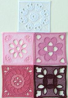 Lace Blocks Set