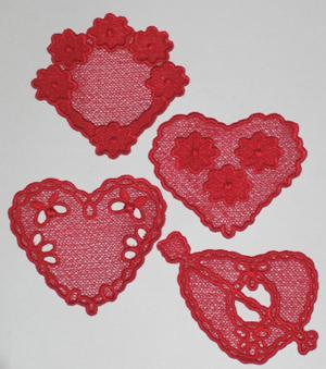 Valentine Lace Set