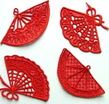 Fan Lace Set