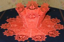 Organza Bowl and Doily Set