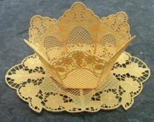 Primrose Bowl and Doily Set