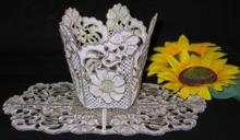 Clematis Bowl and Doily Set