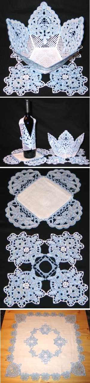 Winter Rose FSL Table Set
