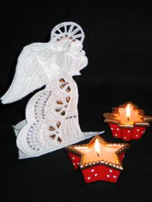 3D Angel Ornament