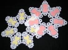 Applique FSL Doily Set