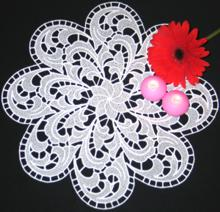 Feather FSL Doily