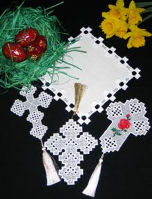 Hardanger Cross Set