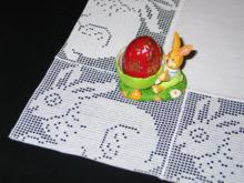 Easter Bunny Crochet Rectangle