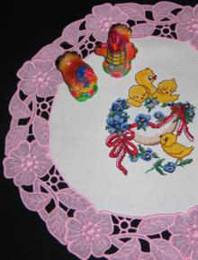 FSL Easter Doily Set