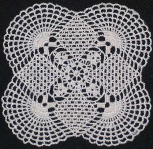 Crochet Stitches Advanced : Advanced Crochet Stitches Fsl crochet sunrise doily