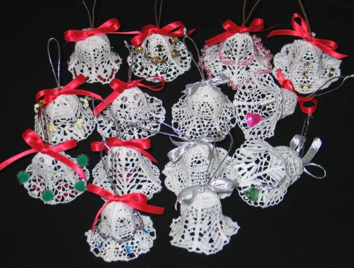 Advanced Embroidery Designs Fsl Crochet 3d Christmas Bells