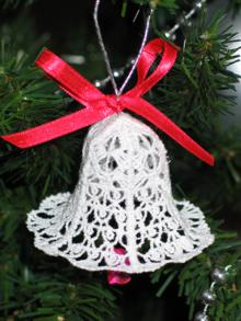 FSL Crochet 3D Christmas Bells