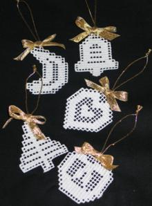 FSL Crochet Christmas Ornaments II