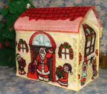 FSL Christmas House Gift Box