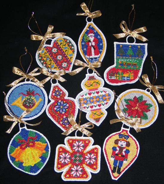 Advanced Embroidery Designs Fsl Christmas Ornaments