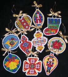 FSL Christmas Ornaments