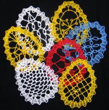 FSL Crochet Easter Egg Set
