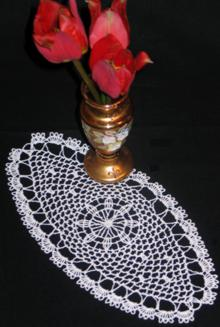 FSL Crochet Dream Catcher Bookmark or Doily Set