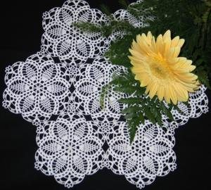 Pineapple Doily VI