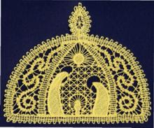 FSL Battenberg Nativity Lace