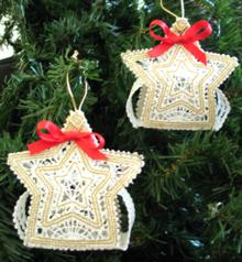 FSL Battenberg 3D Star Ornament Set
