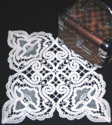 FSL Battenberg Royal Lace Doily