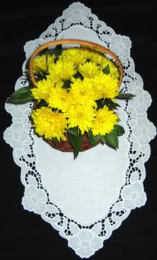 Cutwork Lace Primrose Border