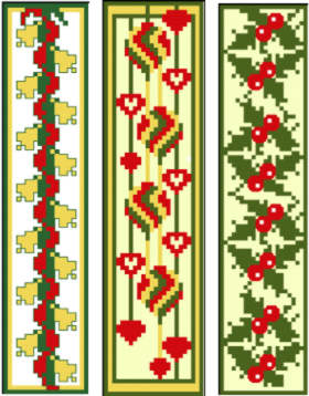 Christmas Bookmark Set